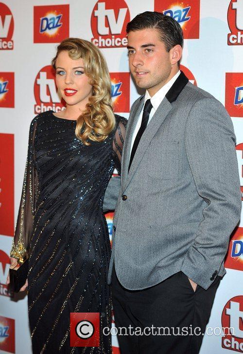 Lydia Bright and James Argent TVChoice Awards held...