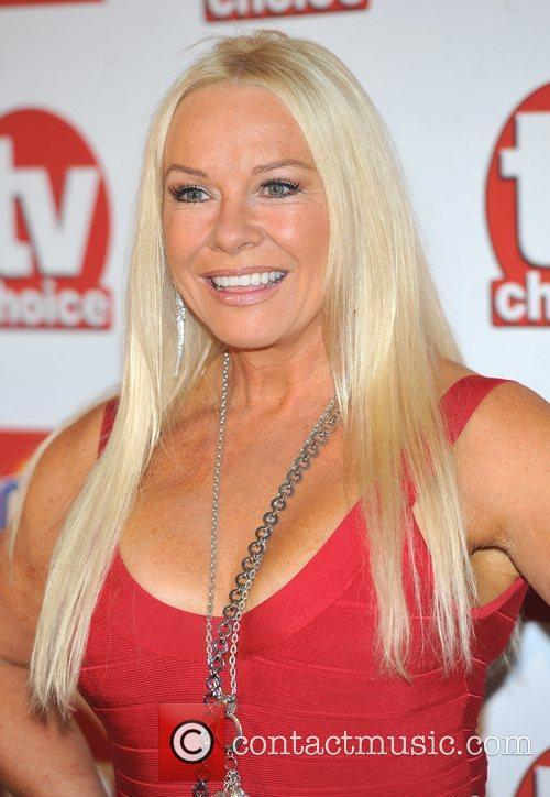 Pamela Stephenson TVChoice Awards held at the Savoy...