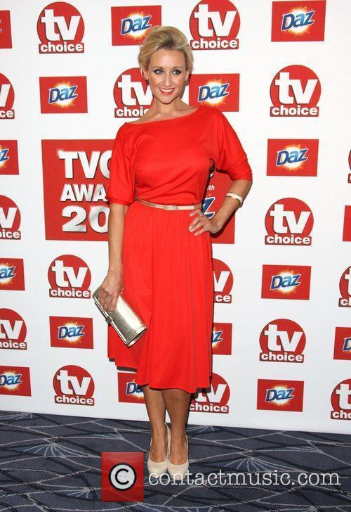 Catherine Tyldsley TVChoice Awards 2011 held at the...