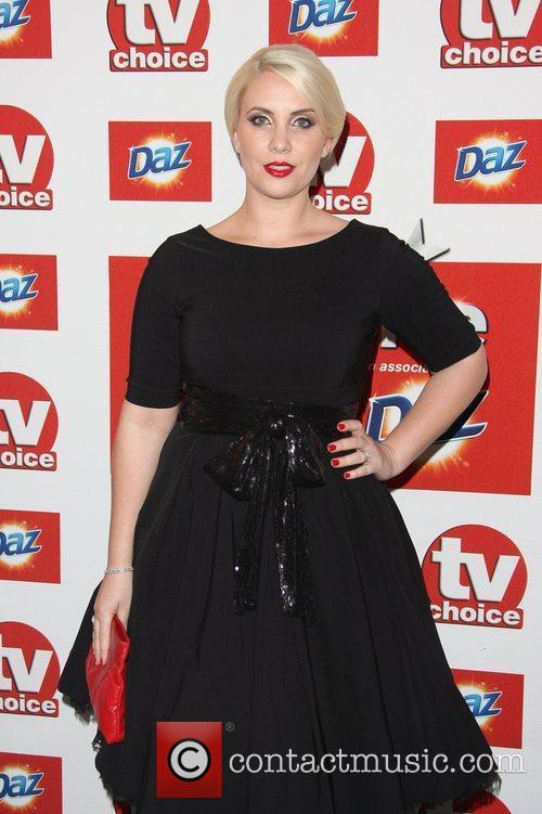 Claire Richards TVChoice Awards 2011 held at the...