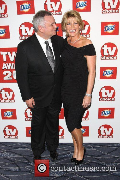 Eamonn Holmes and Ruth Langsford TVChoice Awards 2011...