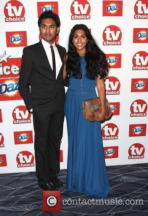 Himesh Patel and Meryl Fernandes TVChoice Awards 2011...