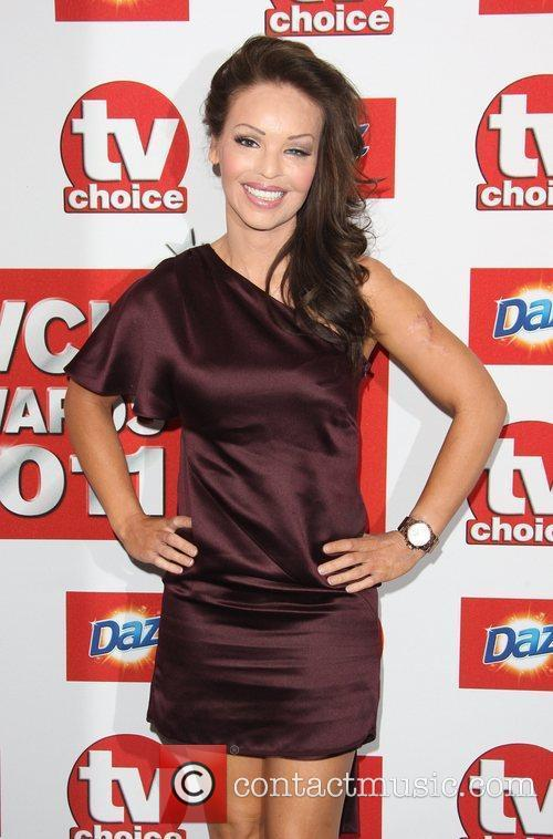 Katie Piper TVChoice Awards 2011 held at the...