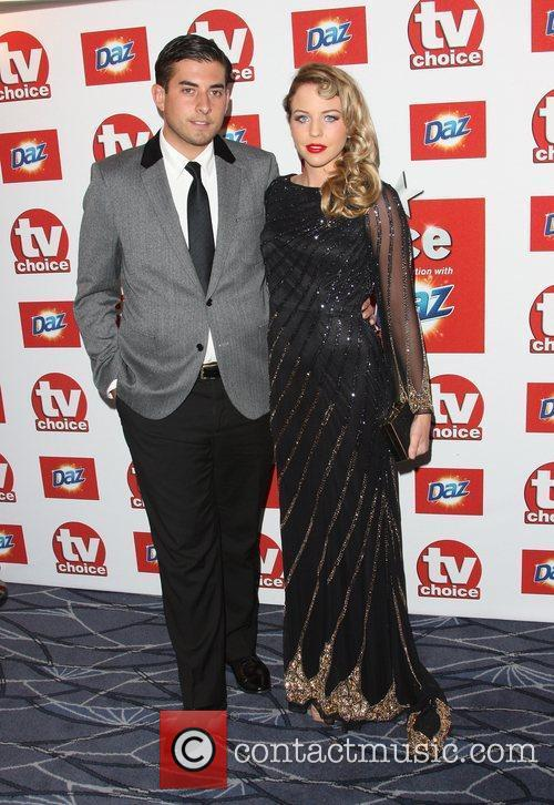 James Argent 'Arg' and Lydia Bright TVChoice Awards...