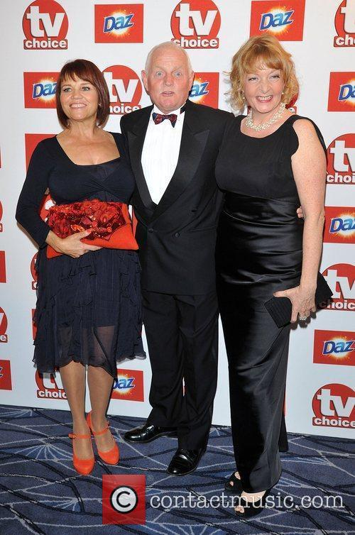 Chris Chittell and guests TVChoice Awards held at...