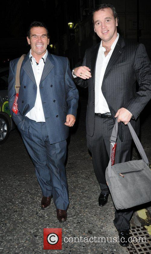Paddy Doherty and Guest leaving the TV choice...