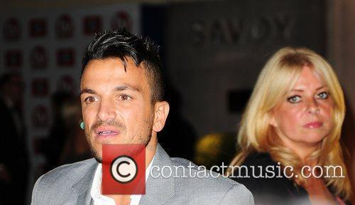 Peter Andre and his manager, Claire Powell at...