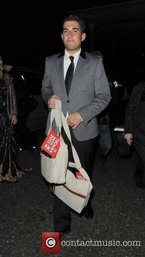 James Argent TV Choice Awards 2011, held at...
