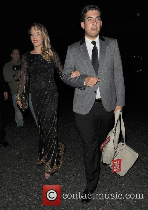 James Argent and Lydia Rose-Bright TV Choice Awards...
