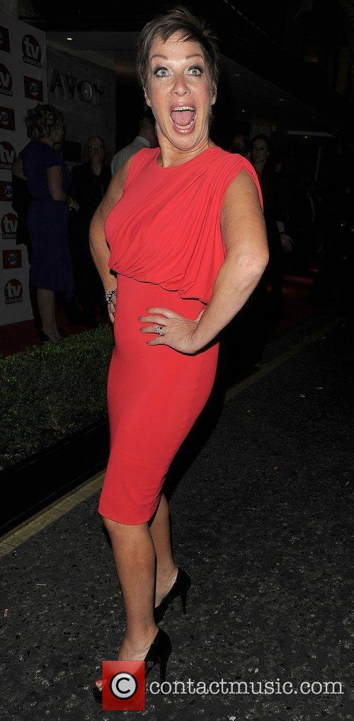Denise Welch TV Choice Awards 2011, held at...
