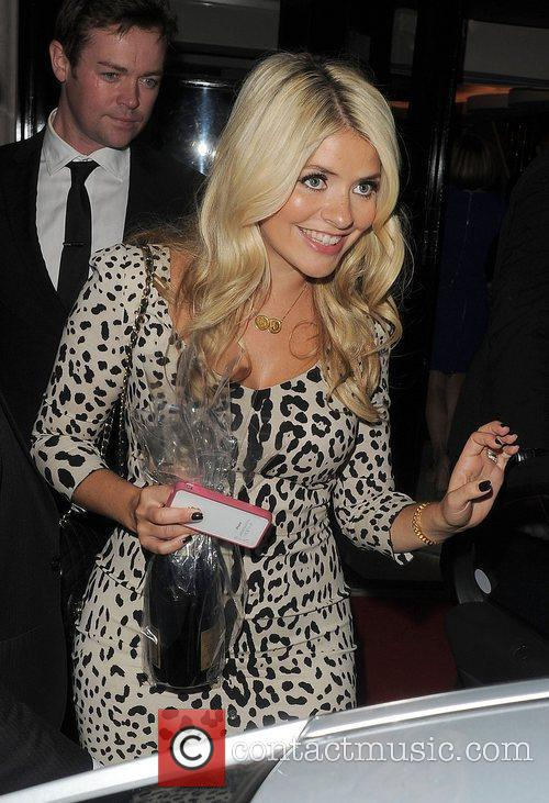Holly Willoughby TV Choice Awards 2011, held at...