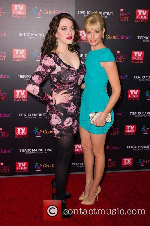 Kat Dennings and Beth Behrs  TV Guide...