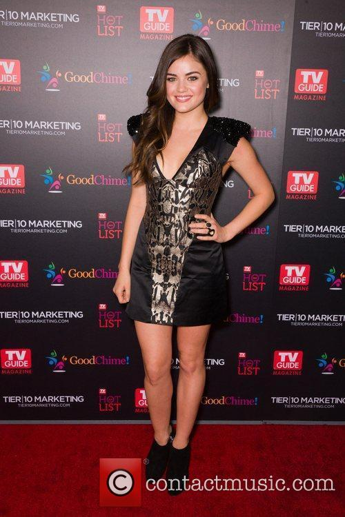 Lucy Hale  TV Guide Magazine's Annual Hot...