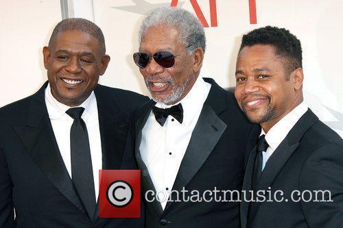 Forest Whitaker, Morgan Freeman and Cuba Gooding Jr....