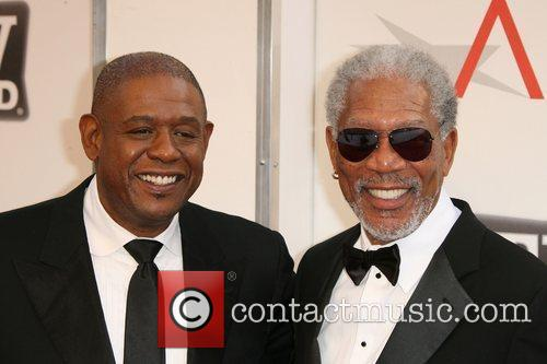 Forest Whitaker and Morgan Freeman  2011 TV...