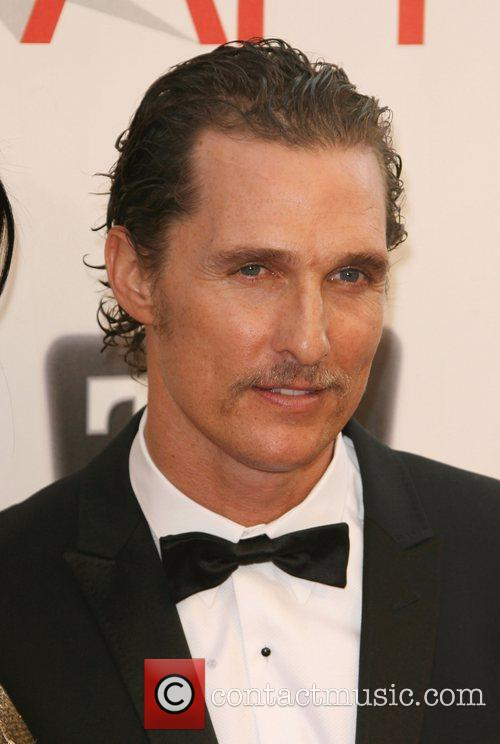 Matthew Mcconaughey and Afi Life Achievement Award 4