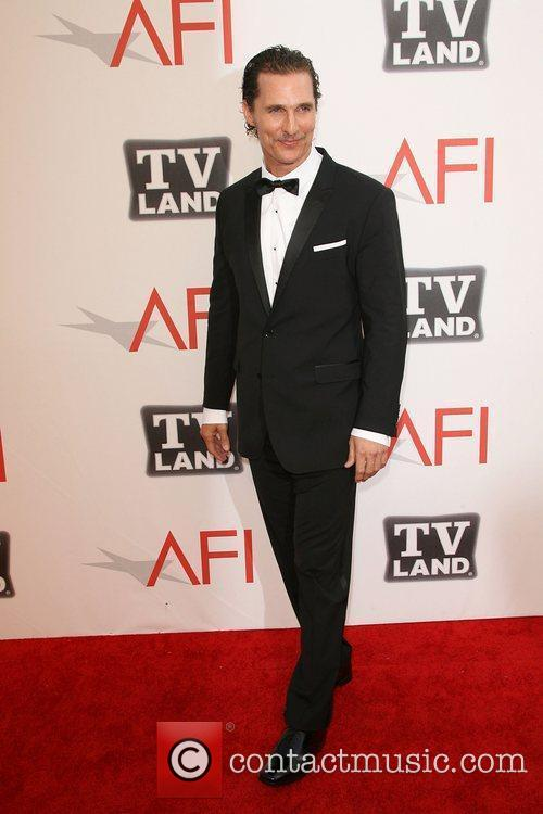 Matthew Mcconaughey and Afi Life Achievement Award 6