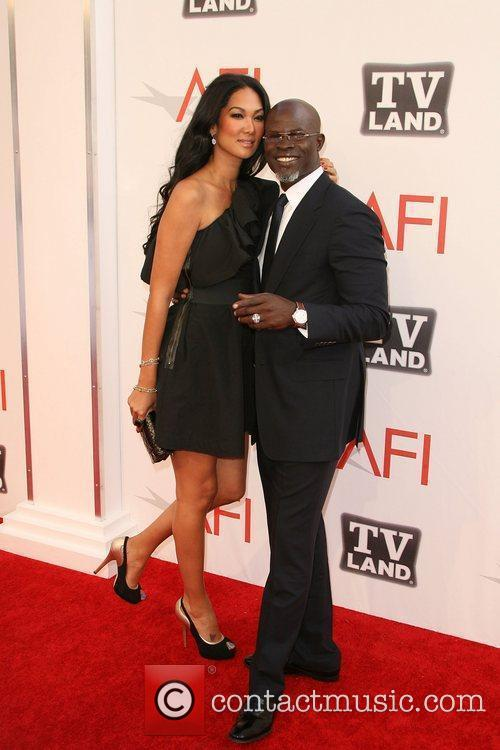 Djimon Hounsou and Afi Life Achievement Award 5