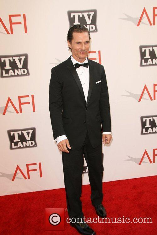 Matthew Mcconaughey and Afi Life Achievement Award 7