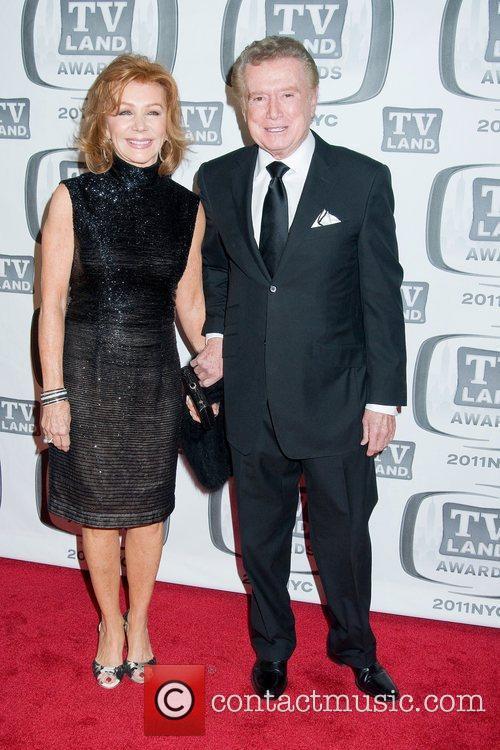 Joy Philbin and Regis Philbin,  at the...