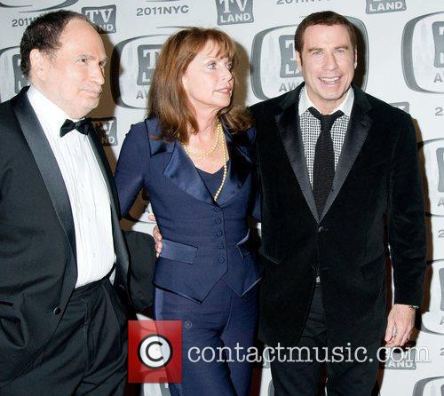 Gabe Kaplan, John Travolta, Marcia Strassman