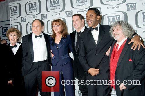 Marcia Strassman and John Travolta 5
