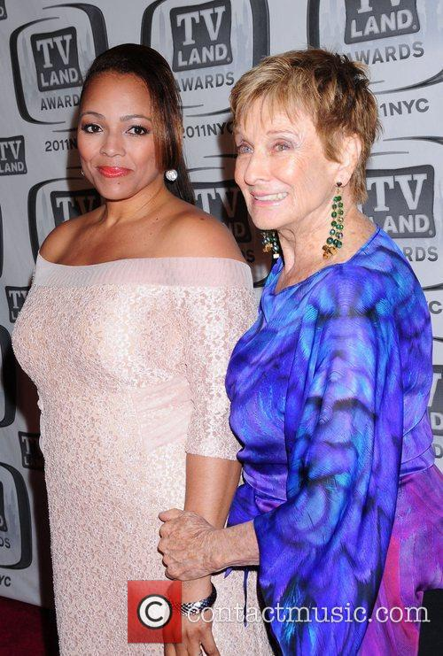 Cloris Leachman and Guest The 9th Annual TV...