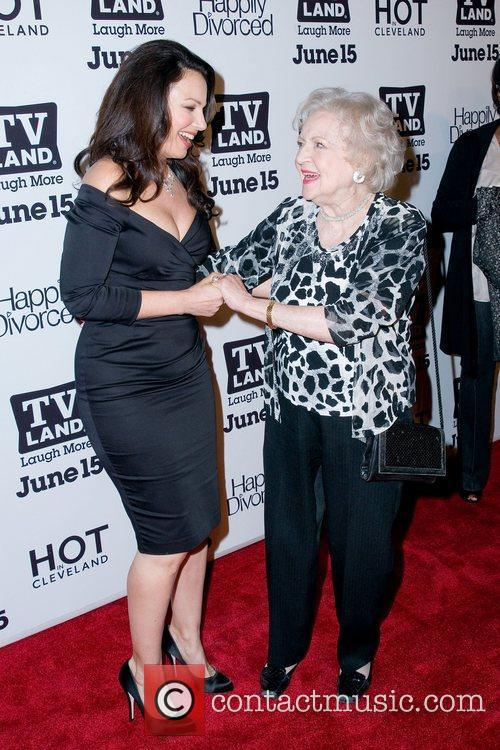 tv_land_party_02 Fran Drescher and Betty White,  at...