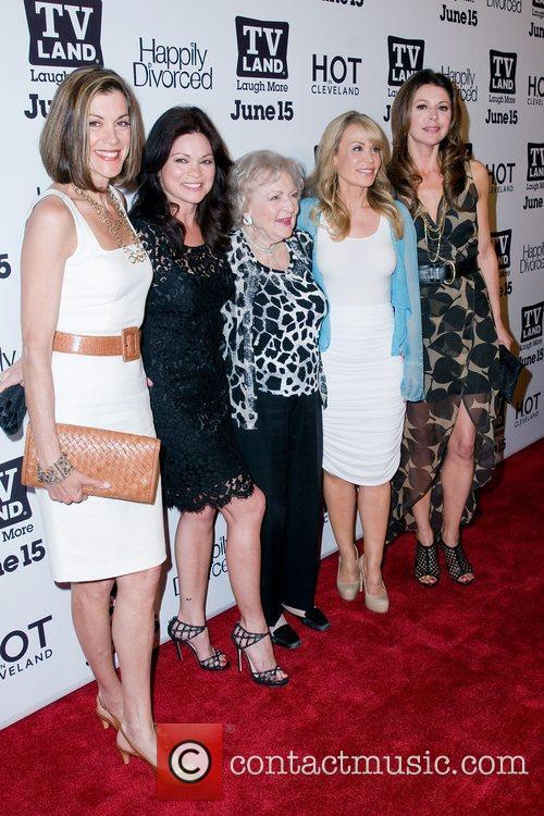 tv_land_party_28 'Hot In Cleveland' creator Suzanne Martin (2nd-R)...