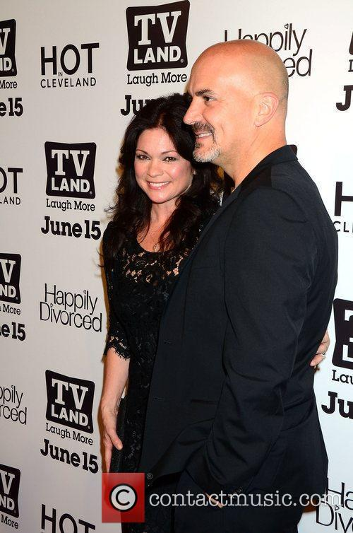 Valerie Bertinelli and guest    at...