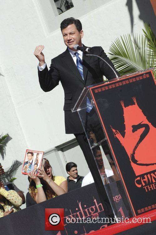 Jimmy Kimmel and Grauman's Chinese Theatre 4