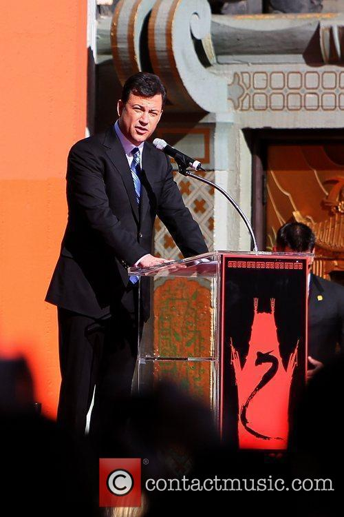 Jimmy Kimmel and Grauman's Chinese Theatre 2