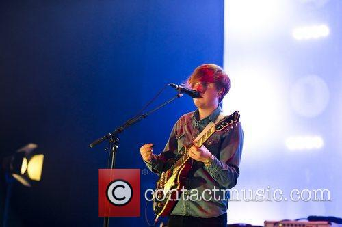 Two Door Cinema Club performing live at O2...
