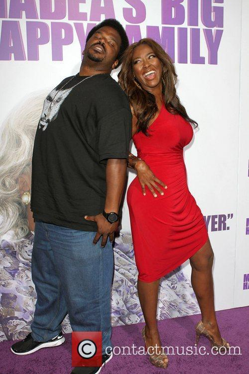 Craig Robinson and Kenya Moore Los Angeles Premiere...