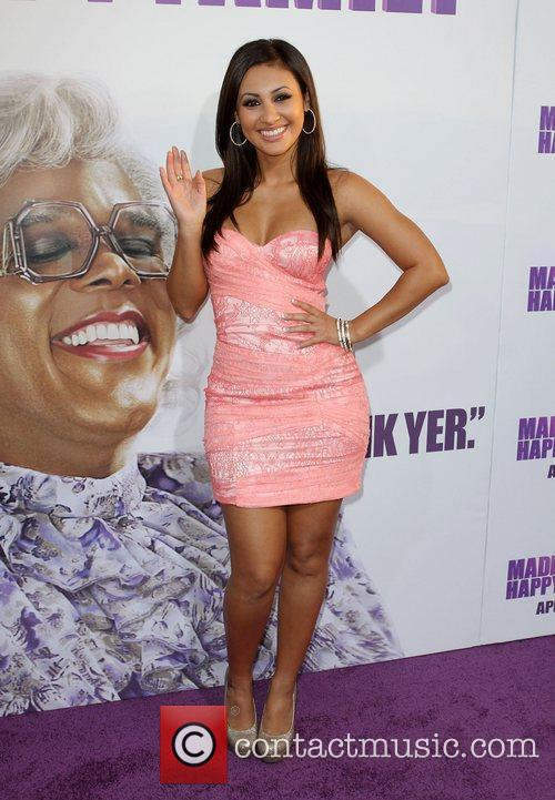 Francia Raisa Los Angeles Premiere of 'Tyler Perry's...
