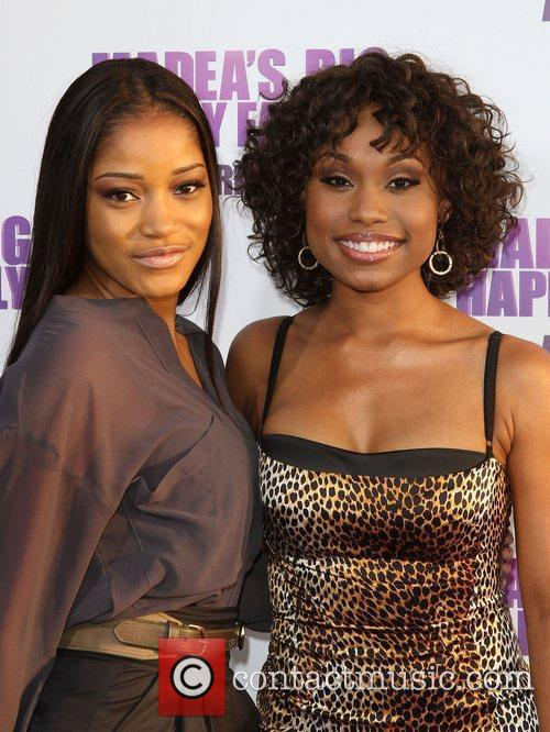 Keke Palmer and Angell Conwell Los Angeles Premiere...