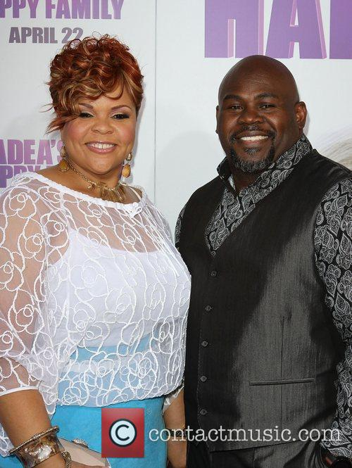 Tamela Mann and David Mann Los Angeles Premiere...