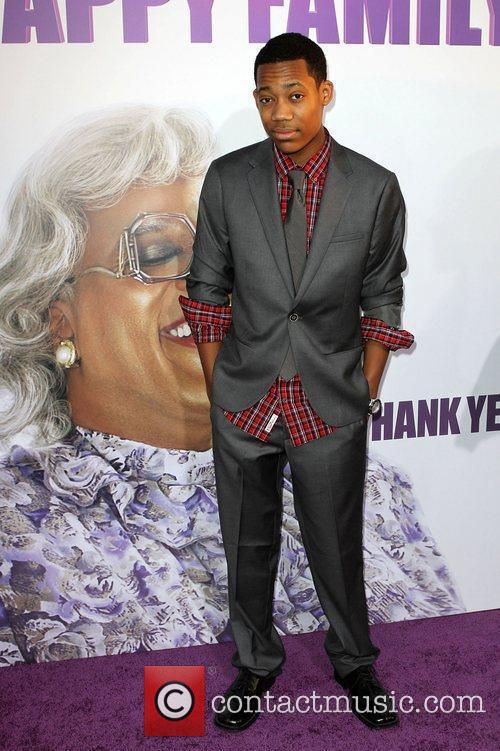 Tyler Williams Los Angeles Premiere of 'Tyler Perry's...