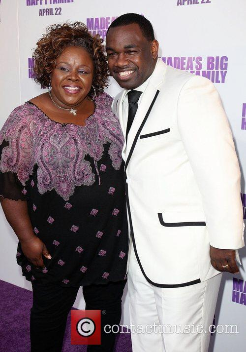 Cassi Davis and Rodney Perry Los Angeles Premiere...