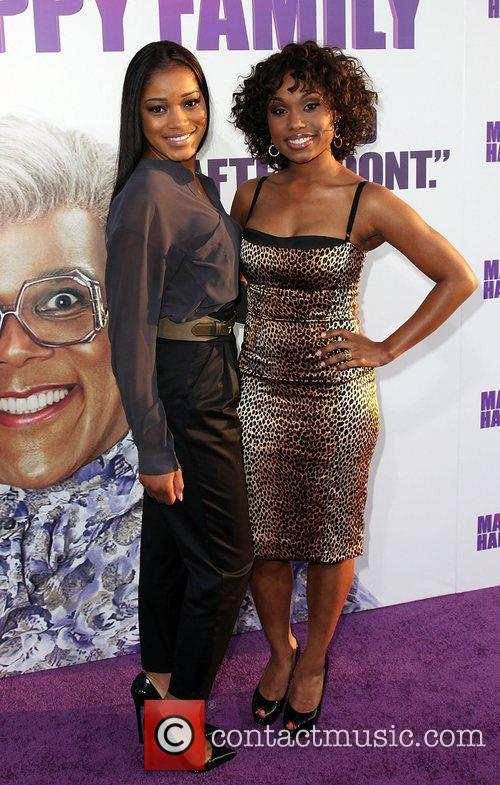 Keke Palmer and guest Los Angeles Premiere of...