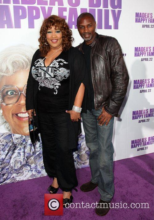 Kym Whitley and guest Los Angeles Premiere of...