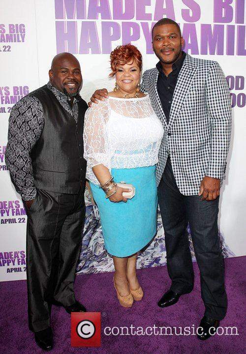 Tamela Mann, David Mann, and Tyler Perry Los...