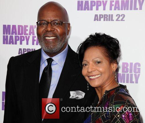 Producer Reuban Cannon and wife Los Angeles Premiere...