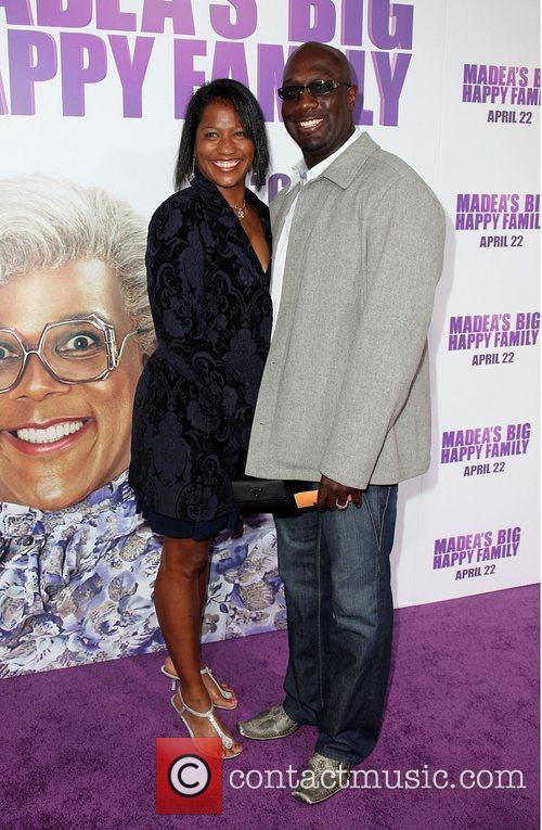Richard T. Jones and guest Los Angeles Premiere...