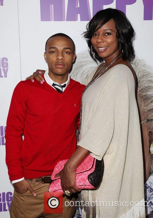 Shad Bow Wow Moss and his mother Teresa...