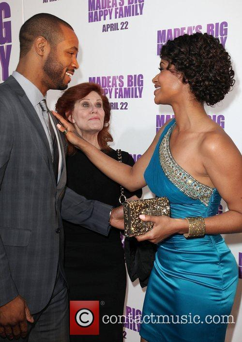 Isaiah Mustafa and Shannon Kane Los Angeles Premiere...