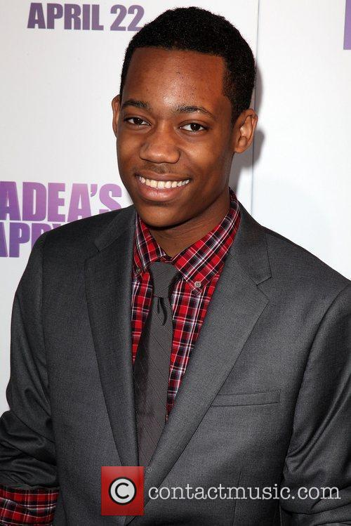 Tyler James Williams Los Angeles Premiere of 'Tyler...