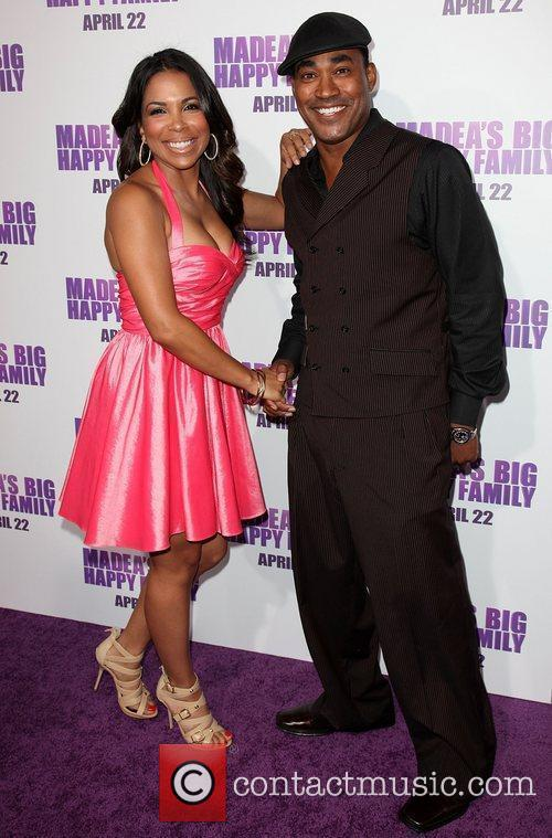 Maya Gilbert and Marc Cayce Los Angeles premiere...