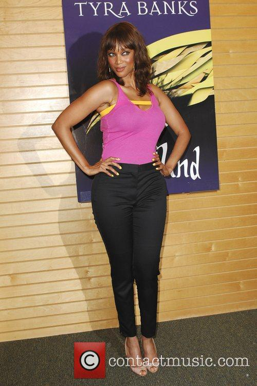 TV personality Tyra Banks at the launch of...