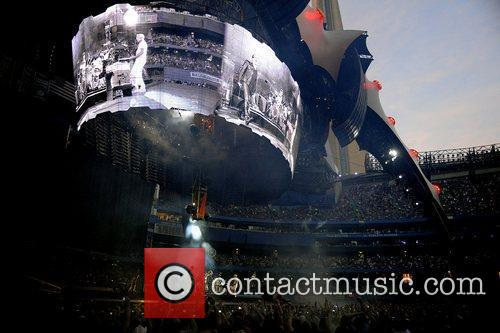 'U2 360 Tour' at the Rogers Centre....